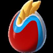 Tricolor-egg