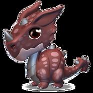Armadillo Dragon Baby