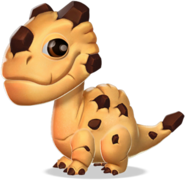 Cookie Dragon Baby