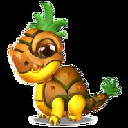 Pineapple Dragon Baby