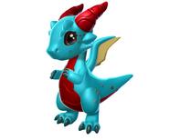 Dragon Corne Rouge