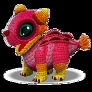 Yarn Dragon Baby