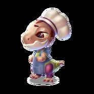 Chef Dragon Baby