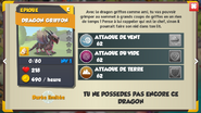 Dragon GRIFFON fiche