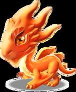 Fireball Dragon Baby