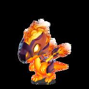 Blazebird Dragon Baby