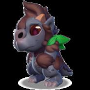 Gorilla Dragon Baby