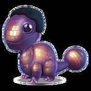 Disco Ball Dragon Baby