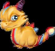 Elemental Dragon Baby