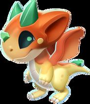 Caramel Dragon Baby