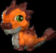 Rust Dragon Baby