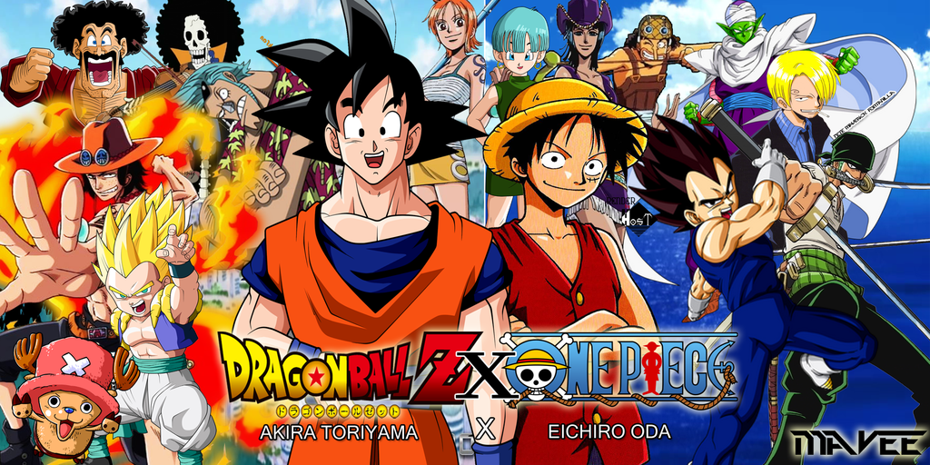 Anime-One-Piece-Dragon-Ball-Z-Wallpaper