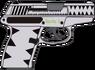 Sunrise Shimmer's Kel Tac P11 pistol