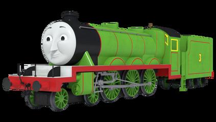 Cgi henry the green engine new shape by skarloeythegreat-d9jtabv