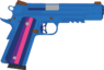Thomlight's SIG-Sauer GSR M1911 pistol