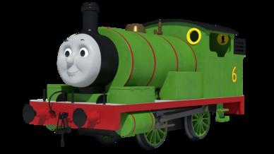 Cgi percy the green engine by skarloeythegreat-d9jy84g
