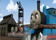 Thomas with gatling guns