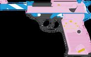 Golden Tiara's Walther P38