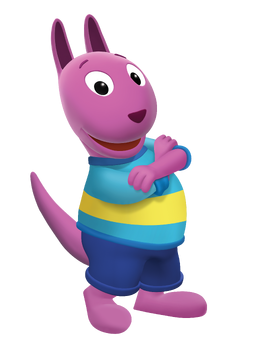 The Backyardigans Austin Nickelodeon Nick Jr. Character Image