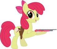 Apple Bloom with her Guns (grown up)