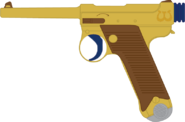 Bronze Shoes' Nambu Type 14 pistol