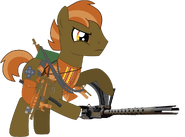 Button Mash (grown up) with his guns