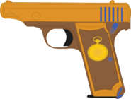 Golden Watch's Hamada 7.65mm Type Pistol