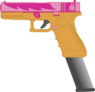 Britney Sweet's Glock18C pistol (with extended mag)