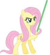 Fluttershy with Lightsaber