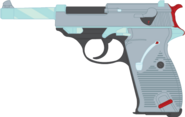 Ruby Ladle's Walther P38