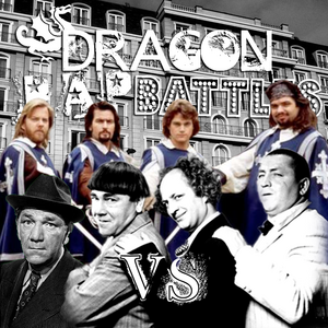 Cover The Three Musketeers vs The Three Stooges