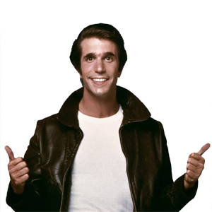 The fonz png