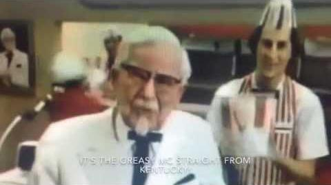 Colonel Sanders VS Gordon Ramsay
