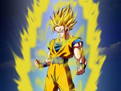 Goku super saiyan 2 by tomnamikaze-d5cacp3