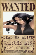 Chiyome Lys - Wanted Poster