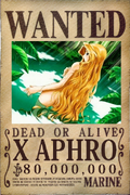 X Aphro - Wanted Poster