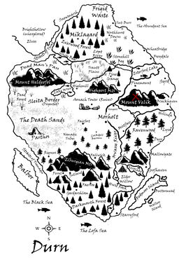 Mount Velik Map