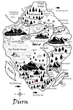 Darkmouth Forest Map