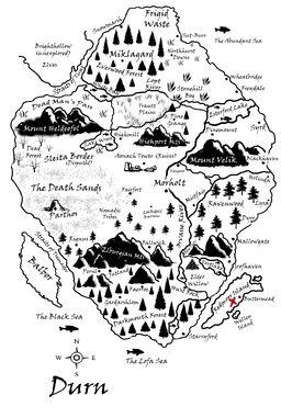 Redmoor Island Map