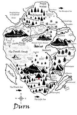 Faerroe Map