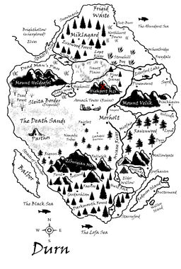 Highport Mountains Map