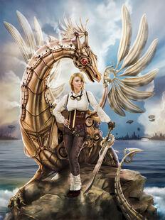 The clockwork dragon by amarys-d5gjzw8