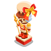 Deluxe Chocolate Nutcracker