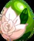 White Rose Egg