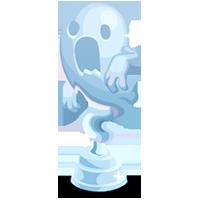 Spooky Crystal Trophy