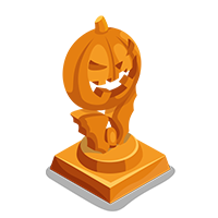 Crystal Bronze Trophy