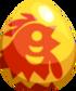 Lunar Rooster Egg