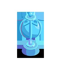 Lantern Crystal Trophy
