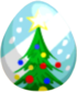 Christmas Tree Egg