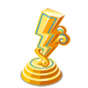 Electric Gold Trophy